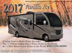 New 2017  Thor Motor Coach Axis 25.5 RV for Sale at MHSRV.com W/15K A/C, King by Thor Motor Coach from Motor Home Specialist in Alvarado, TX