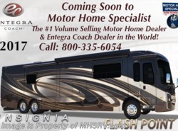 New 2017  Entegra Coach Insignia 44W Luxury Bath & 1/2 RV for Sale at MHSRV W/Villa by Entegra Coach from Motor Home Specialist in Alvarado, TX