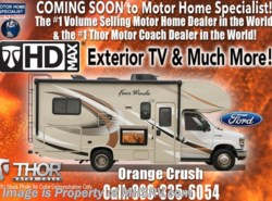 New 2017  Thor Motor Coach Four Winds 22E Ford W/HD Max, Ext. TV, 15K A/C, Back-Up Cam by Thor Motor Coach from Motor Home Specialist in Alvarado, TX