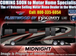 New 2018 Fleetwood Discovery LXE 44H Bath & 1/2 450HP Tag W/Aqua Hot, U-Dinette available in Alvarado, Texas