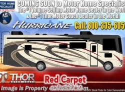 New 2019 Thor Motor Coach Hurricane 27B for Sale at MHSRV W/5.5KW Gen & 2 A/Cs available in Alvarado, Texas
