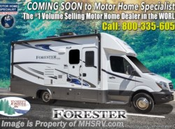 New 2019 Forest River Forester MBS 2401R Sprinter Diesel RV W/Premium Camping Pkg available in Alvarado, Texas