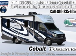 New 2019 Forest River Forester MBS 2401W Sprinter Diesel RV W/3.2KW Dsl Gen, Ext TV available in Alvarado, Texas