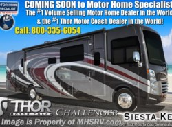 New 2019 Thor Motor Coach Challenger 37KT RV for Sale With Res. Fridge, Theater Seats available in Alvarado, Texas