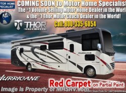 New 2019 Thor Motor Coach Hurricane 35M Bath & 1/2 RV for Sale W/King, OH Loft available in Alvarado, Texas