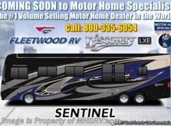 New 2019 Fleetwood Discovery LXE 44B Bath & 1/2 Bunk Model W/Tech Pkg, Aqua Hot available in Alvarado, Texas