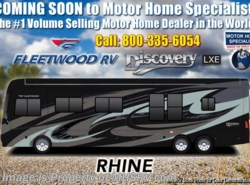 New 2019 Fleetwood Discovery LXE 44B Bath & 1/2 Bunk Model W/ Aqua Hot, Tech Pkg available in Alvarado, Texas