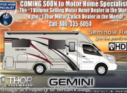 New 2019 Thor Motor Coach Gemini 24SX RUV for Sale W/Theater Seats, 15K AC, Dsl Gen available in Alvarado, Texas