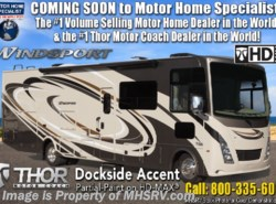 New 2019 Thor Motor Coach Windsport 29M Class A RV for Sale W/ 2 A/C & King available in Alvarado, Texas