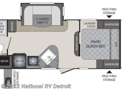 New 2017  Keystone Premier 22RBPR by Keystone from National RV Detroit in Belleville, MI