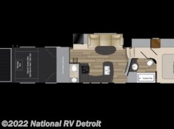 New 2017  Heartland RV Edge 386 by Heartland RV from National RV Detroit in Belleville, MI