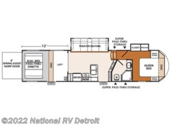 Used 2016  Forest River XLR Thunderbolt 340X12HP by Forest River from National RV Detroit in Belleville, MI