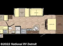New 2017  CrossRoads Sunset Trail Super Lite 289QB by CrossRoads from National RV Detroit in Belleville, MI