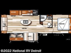 New 2017  Forest River Salem 27REI by Forest River from National RV Detroit in Belleville, MI