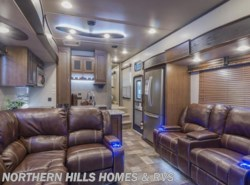 New 2017  Keystone Fuzion 414 by Keystone from Northern Hills Homes and RV's in Whitewood, SD