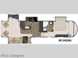 Used 2011  Heartland RV ElkRidge 34QSRL by Heartland RV from Campers Inn RV in Tucker, GA