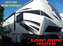 New 2015  Forest River XLR Nitro 29UDQL5 by Forest River from Luke's RV Sales & Service in Lake Charles, LA