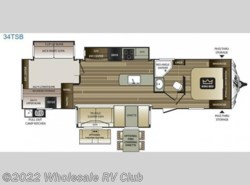 New 2017  Keystone Cougar X-Lite 34TSB by Keystone from Wholesale RV Club in Ohio