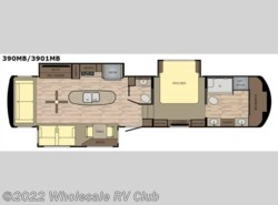 New 2017  Redwood Residential Vehicles Redwood 3901MB by Redwood Residential Vehicles from Wholesale RV Club in Ohio
