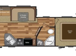 New 2017  Keystone Hideout 26RLS by Keystone from COLUMBUS CAMPER & MARINE CENTER in Columbus, GA