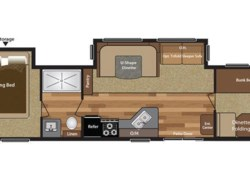 New 2017  Keystone Hideout 38BHDS by Keystone from COLUMBUS CAMPER & MARINE CENTER in Columbus, GA