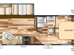 New 2017  Forest River Salem T27RLSS by Forest River from Panhandle RV in Marianna, FL
