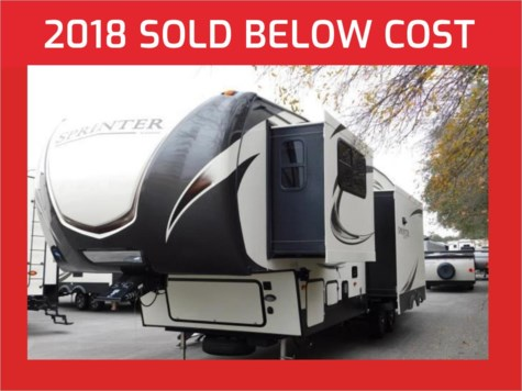 2018 Keystone Sprinter Limited 3151FWRLS