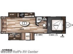 New 2017  Forest River Wildwood 27REIS by Forest River from Ruff's RV Center in Euclid, OH
