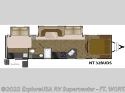 New 2016  Heartland RV North Trail  32BUDS King by Heartland RV from ExploreUSA RV Supercenter - FT. WORTH, TX in Ft. Worth, TX