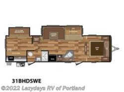 New 2018 Keystone Hideout 31BHDSWE available in Milwaukie, Oregon
