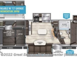 New 2017  Grand Design Momentum M-Class 398M by Grand Design from Great Escapes RV Center in Gassville, AR