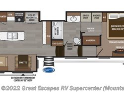 New 2017  Keystone Montana 3811MS by Keystone from Great Escapes RV Center in Gassville, AR