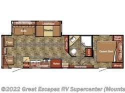 Used 2012  Gulf Stream Kingsport 288RLS by Gulf Stream from Great Escapes RV Center in Gassville, AR