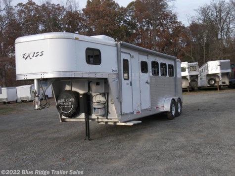 2007 Exiss Living Quarters 4H Slant  7'2