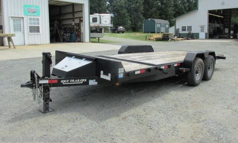 2012 Rice Trailers 16+4 Partial Tilt 14K