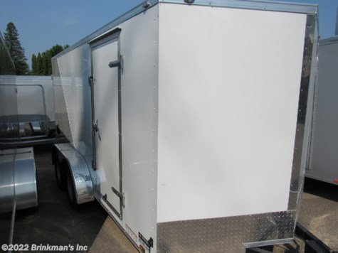 2019 Haulmark V-Series 7x14 v nose double rear door