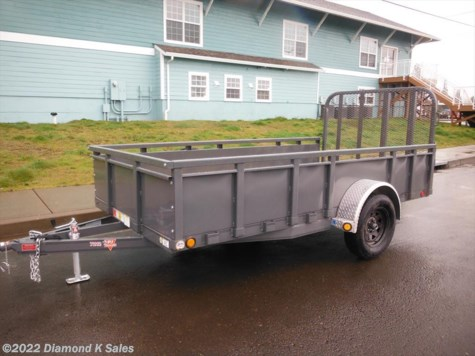 2017 PJ Trailers Utility 6' x 12' With 22