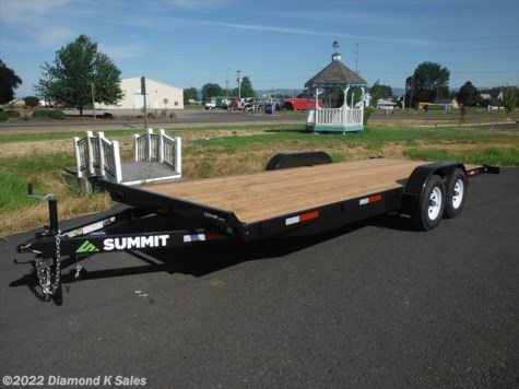 2018 Summit Trailer Cascade C4FB716TA2