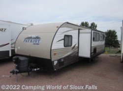 Used 2016  Forest River Cherokee PATRIOT 26DBH by Forest River from Spader's RV Center in Sioux Falls, SD