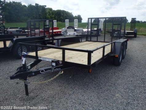 2021 Quality Trailers by Quality Trailers, Inc. B Tandem 14' Econo