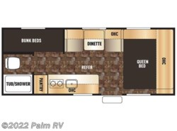 Used 2016  Forest River Wolf Pup 16BHS by Forest River from Palm RV in Fort Myers, FL