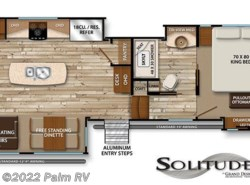 New 2017  Grand Design Solitude 384GK by Grand Design from Palm RV in Fort Myers, FL