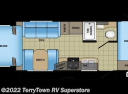 New 2017  Jayco Jay Feather X213 by Jayco from TerryTown RV Superstore in Grand Rapids, MI