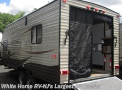 New 2017  Forest River Grey Wolf 19RR Front Queen Rear Garage with Ramp Door by Forest River from White Horse RV Center in Egg Harbor City, NJ