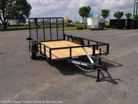 2019 Stagecoach 6X12 ANGLE TOP 4' RAMP GATE