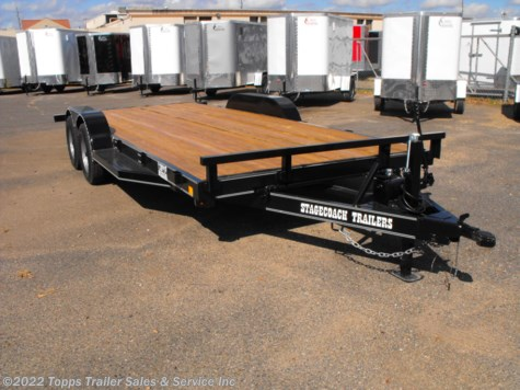 2019 Stagecoach 20' TILT CAR HAULER