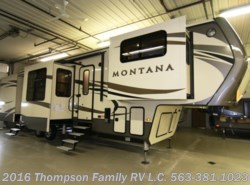 New 2017  Keystone Montana 3710FL by Keystone from Thompson Family RV LLC in Davenport, IA