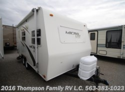 Used 2008  Forest River  MICRO LITE BY FLAGSTAFF 18FBR by Forest River from Thompson Family RV LLC in Davenport, IA
