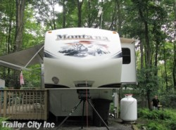 Used 2012  Keystone Montana Hickory 3665RE by Keystone from Trailer City, Inc. in Whitehall, WV