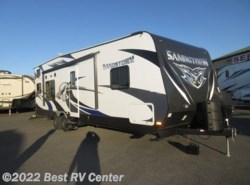 New 2016  Forest River Sandstorm 270GSLR 200W SOLAR POWER KIT/ SOLID SURFACE COUNTE by Forest River from Best RV Center in Turlock, CA